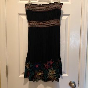 Dots Dresses - Strapless dress, worn once